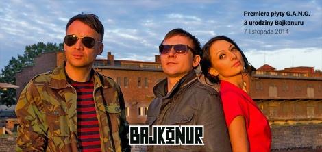 Premiera płyty G.A.N.G. i trzecie urodzinyBajkonuru